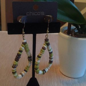 Chico's Elba Hoop Earrings